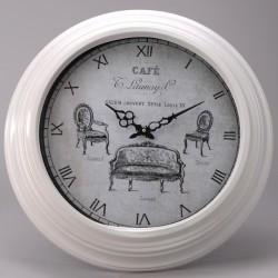 Coeur de d co for Jolie horloge murale