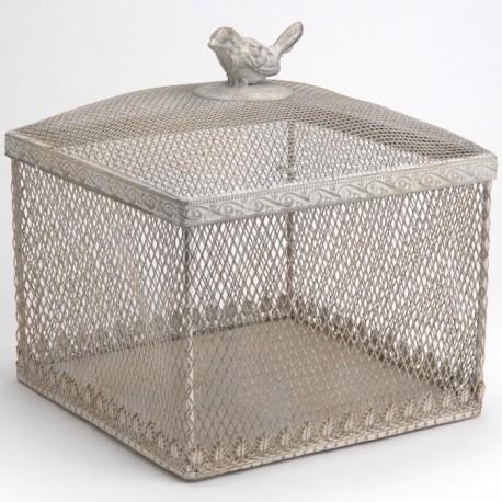 boite de rangement m tal amadeus coeur de d co. Black Bedroom Furniture Sets. Home Design Ideas