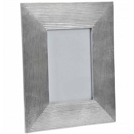 Grand cadre photo m tal j line coeur de d co for Grand miroir cadre metal
