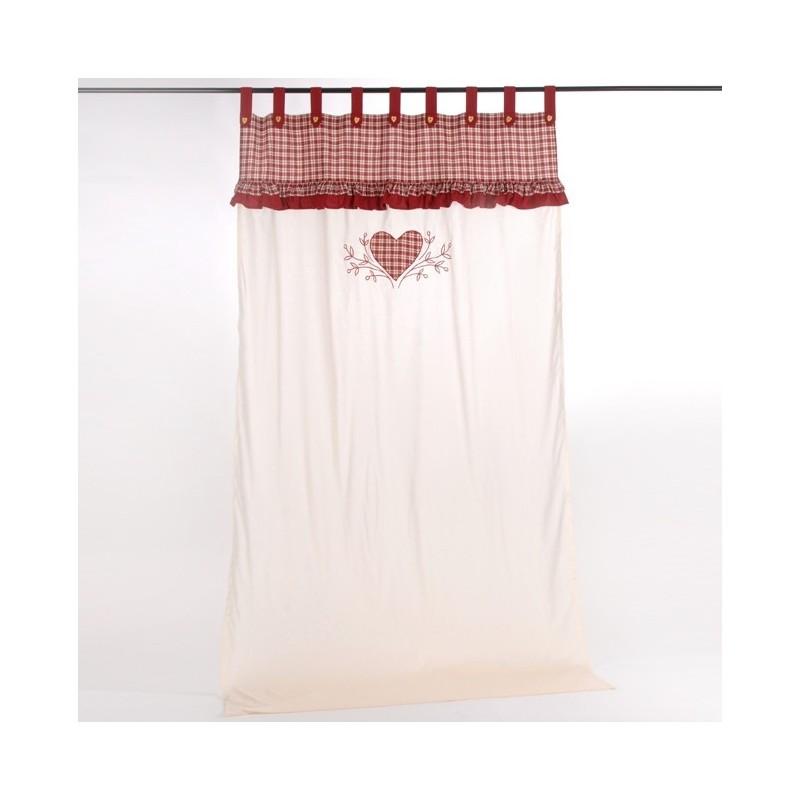 Rideau d co 140 x 250 cm amadeus coeur de d co for Amadeus deco vente en ligne