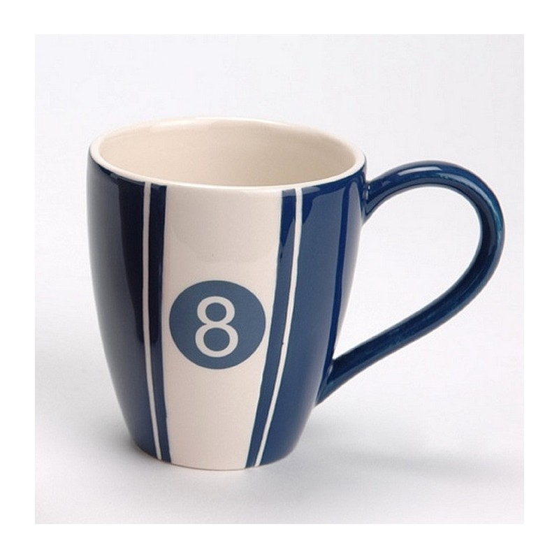 Déco Coeur Billard Bleu Amadeus Tasse Mug De gf76Yby