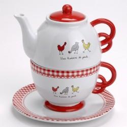 Service à thé 1 personne Amadeus