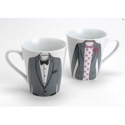Coffret mugs Monsieur Madame Amadeus