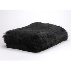 Plaid noir 130 x 170 cm Amadeus