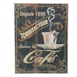 """Tableau déco """"Maison du café"""" Amadeus"""