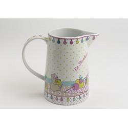 Pichet à eau en porcelaine Amadeus