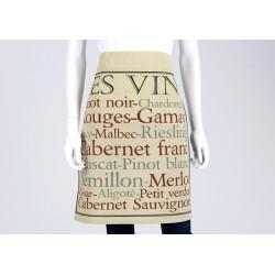 Tablier bistrot Les vins Amadeus